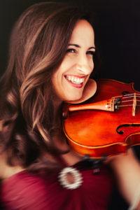 Virginie d'Avezac viola, violin lessons Santa Monica
