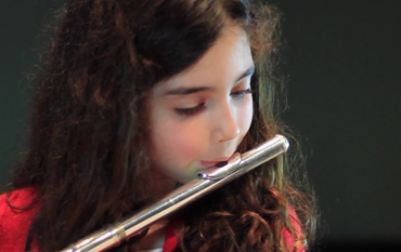 "Flute Student plays ""The Crown of Roses"" by Tchaikovsky"